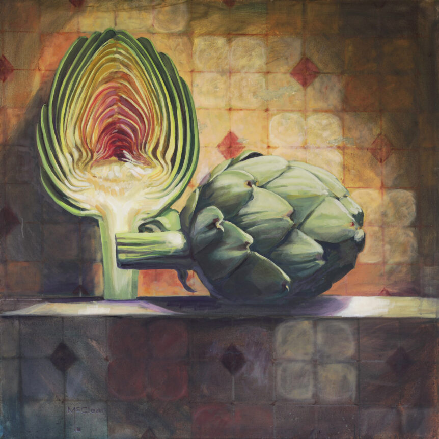 Artichoke and Fresco by Brian McClear