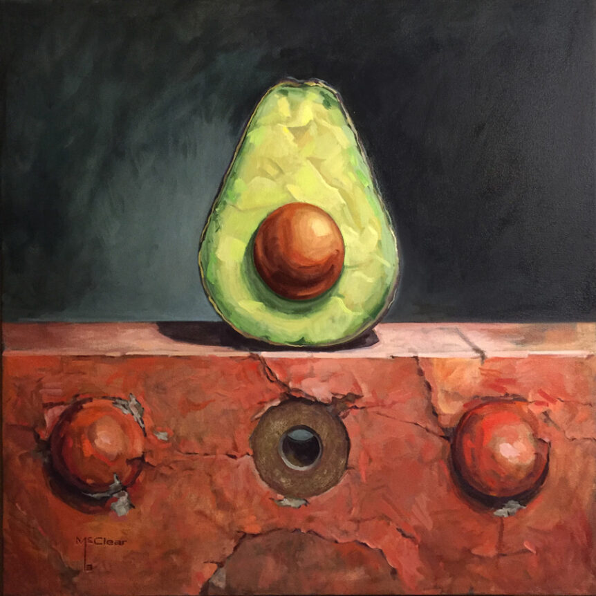 Avocado and Rivets by Brian McClear