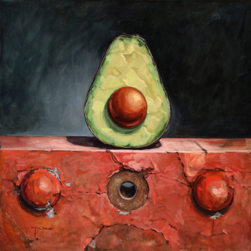 Avocado and Rivets by: Brian McClear