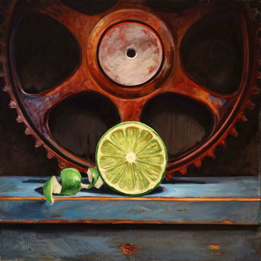 Lime and Segments by Brian McClear