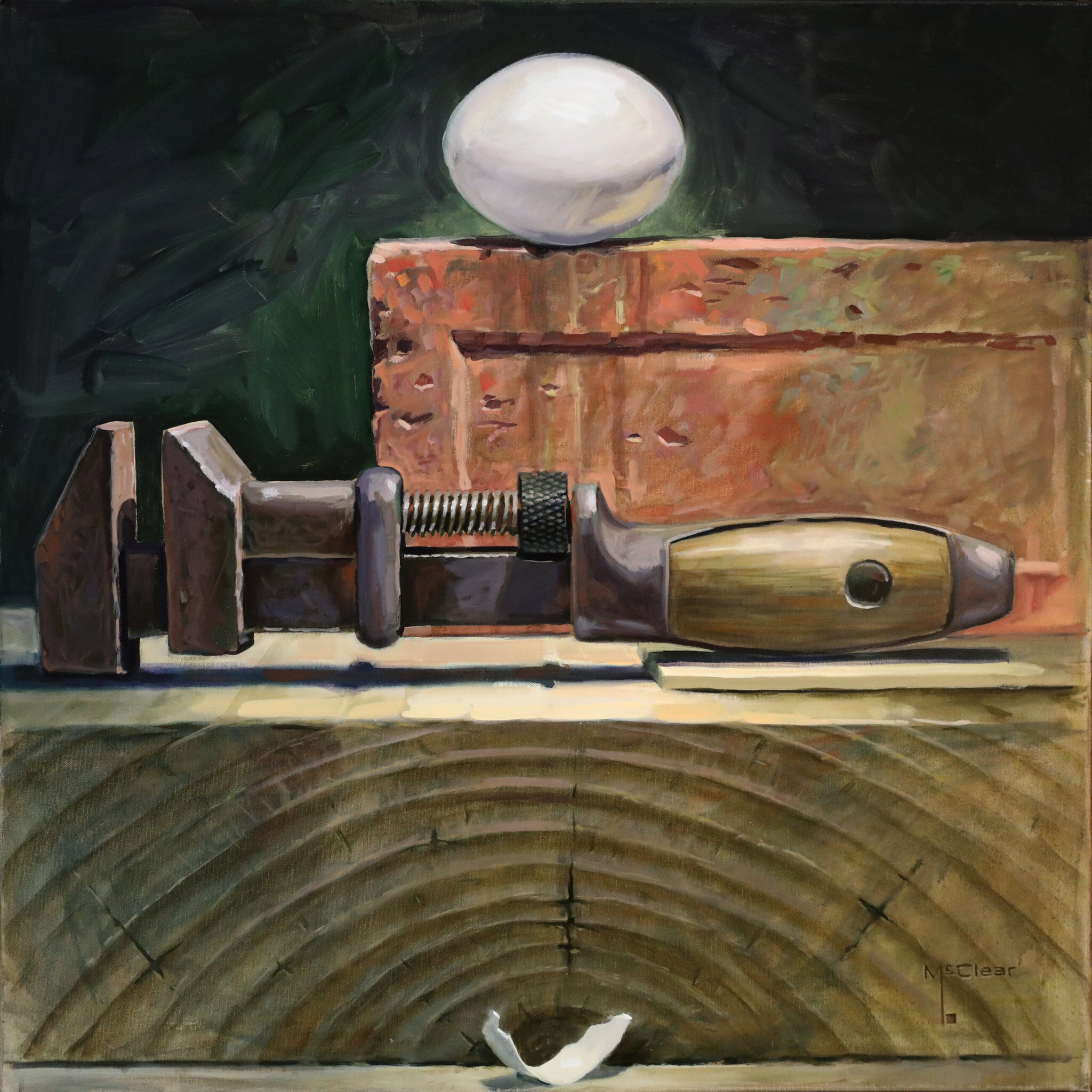 Wrench and Egg by Brian McClear