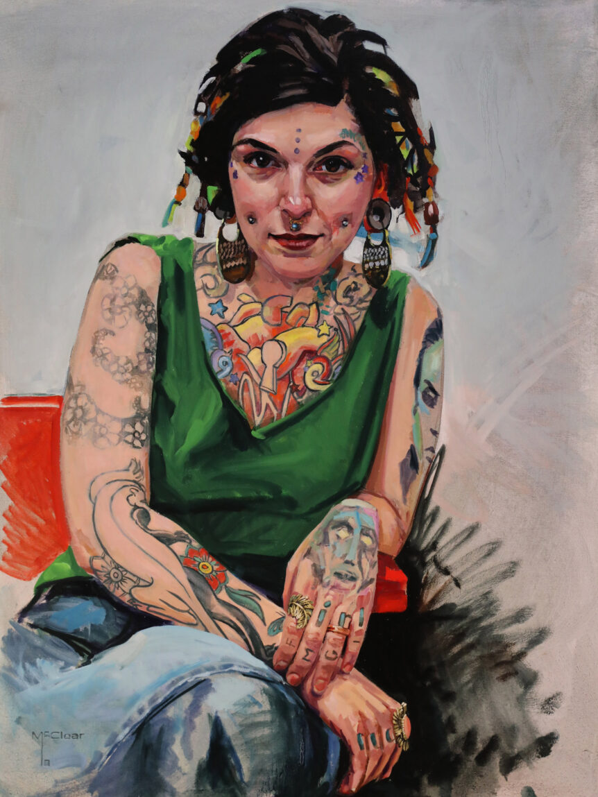 """Cheryl"" by Brian McClear 