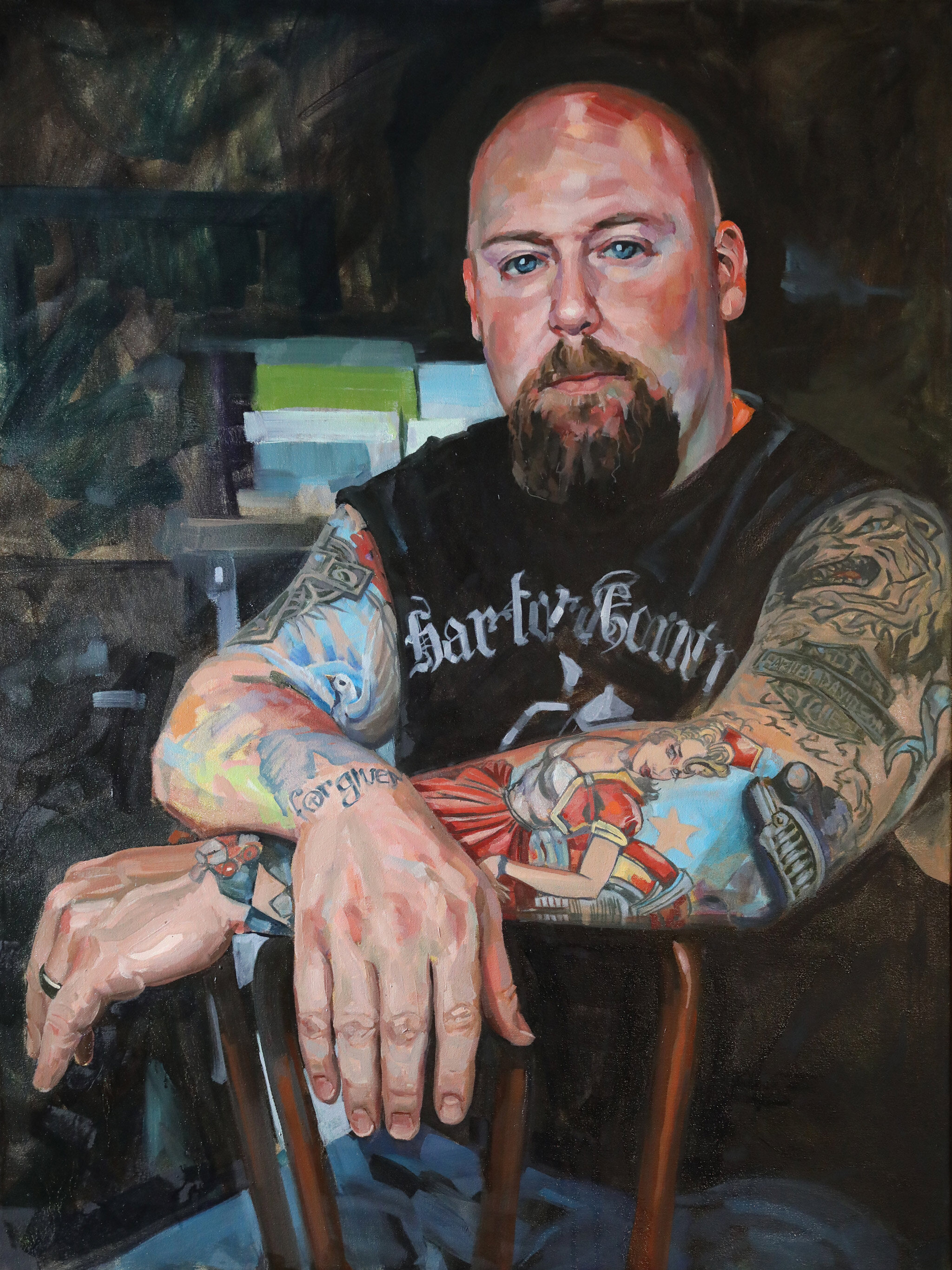 """Chad"" by Brian McClear 