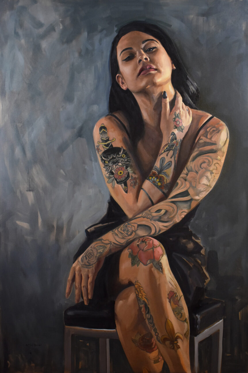 """Justine"" by Brian McClear 