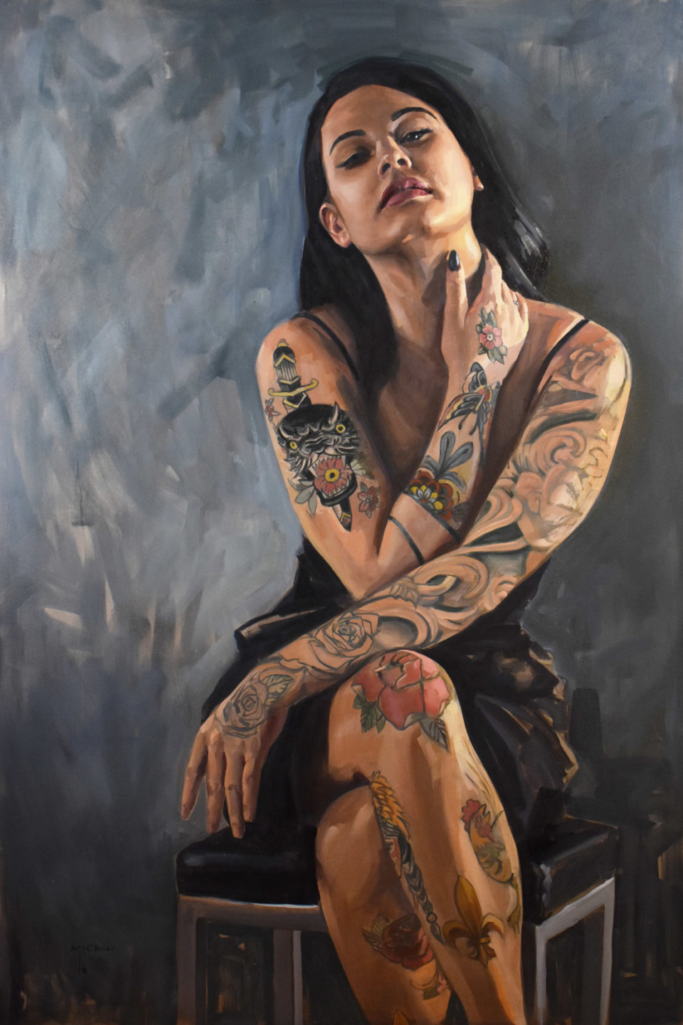 """""""Justine"""" by Brian McClear 