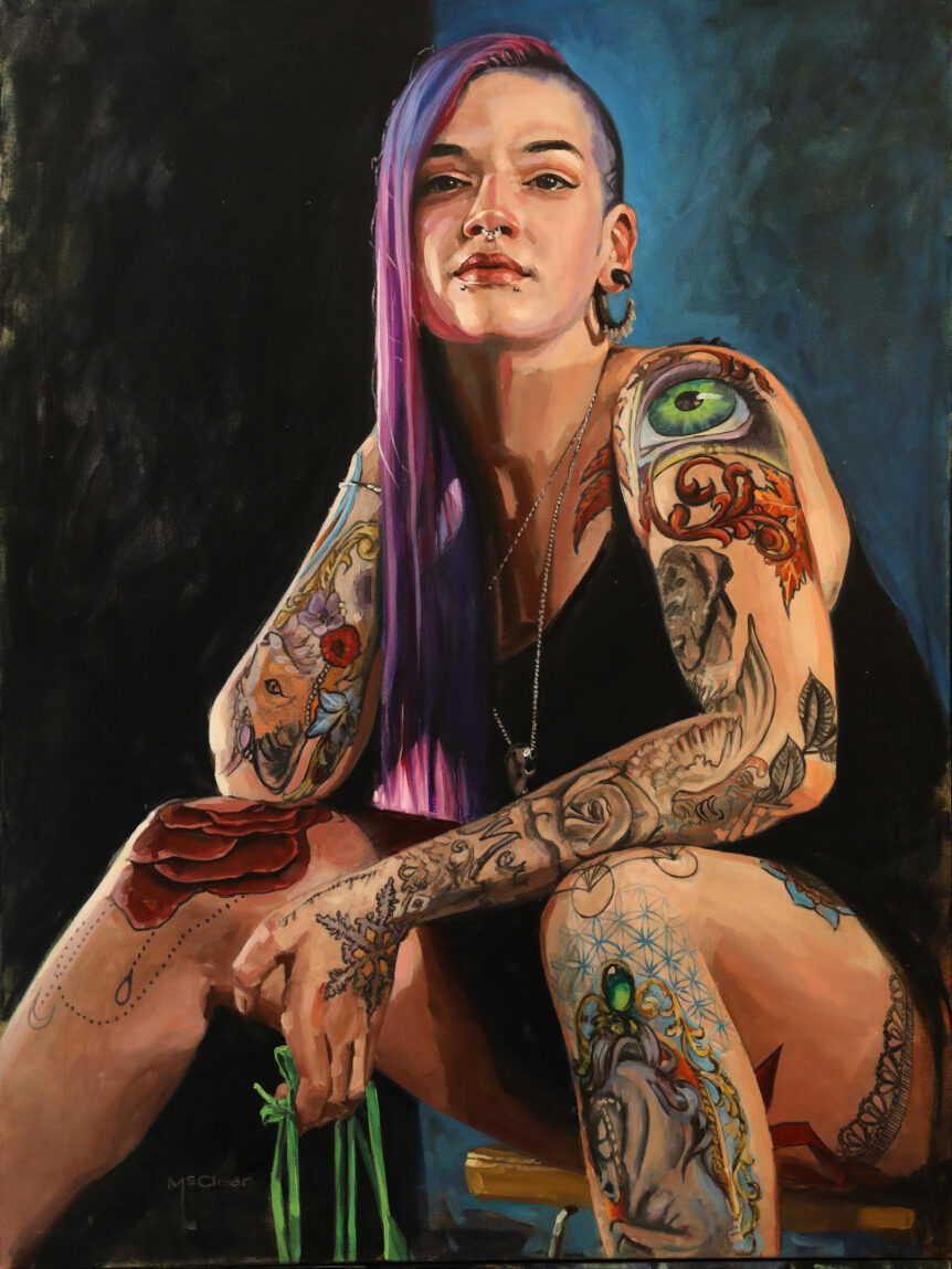 """Joelle"" by Brian McClear 