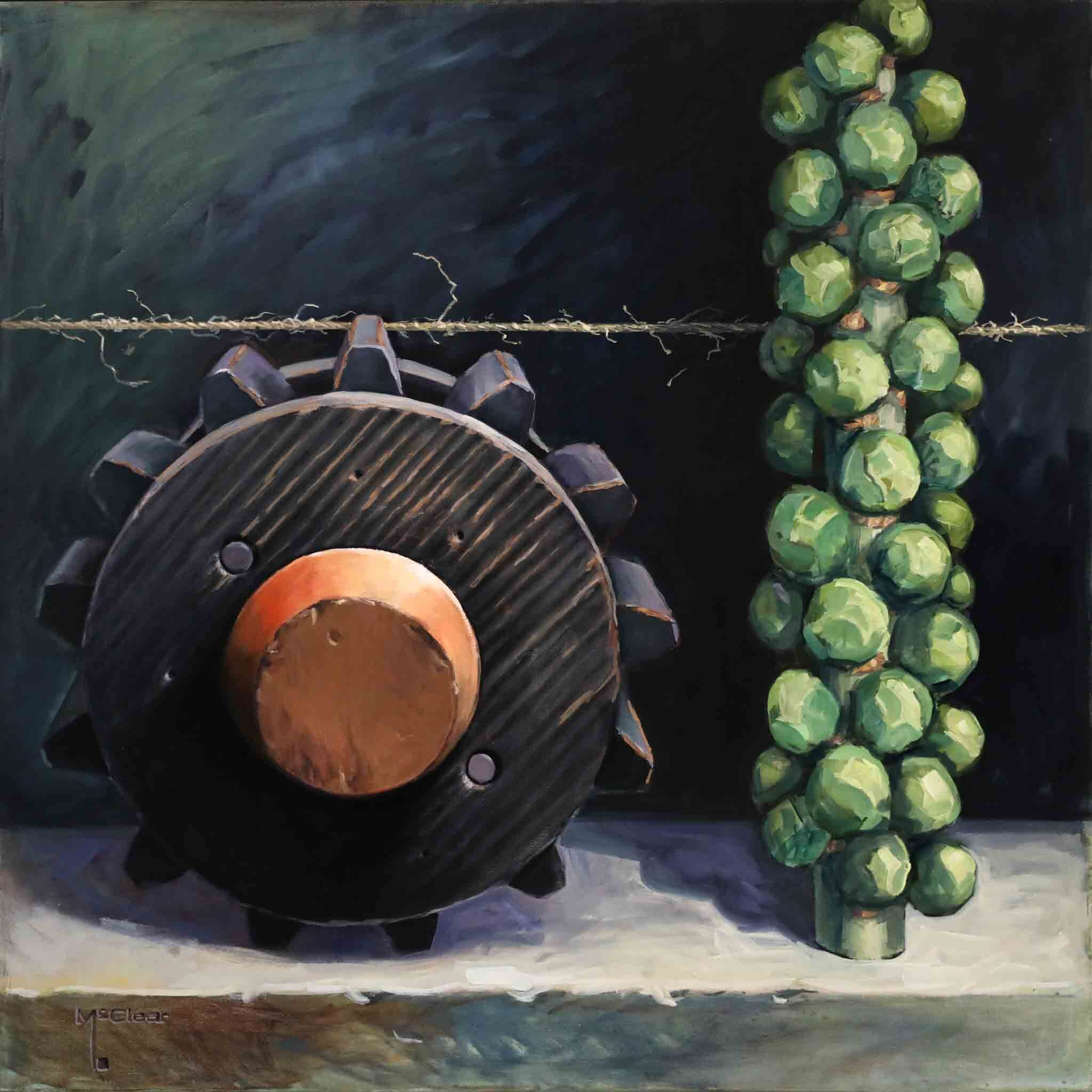 Twine and Sprouts by Brian McClear