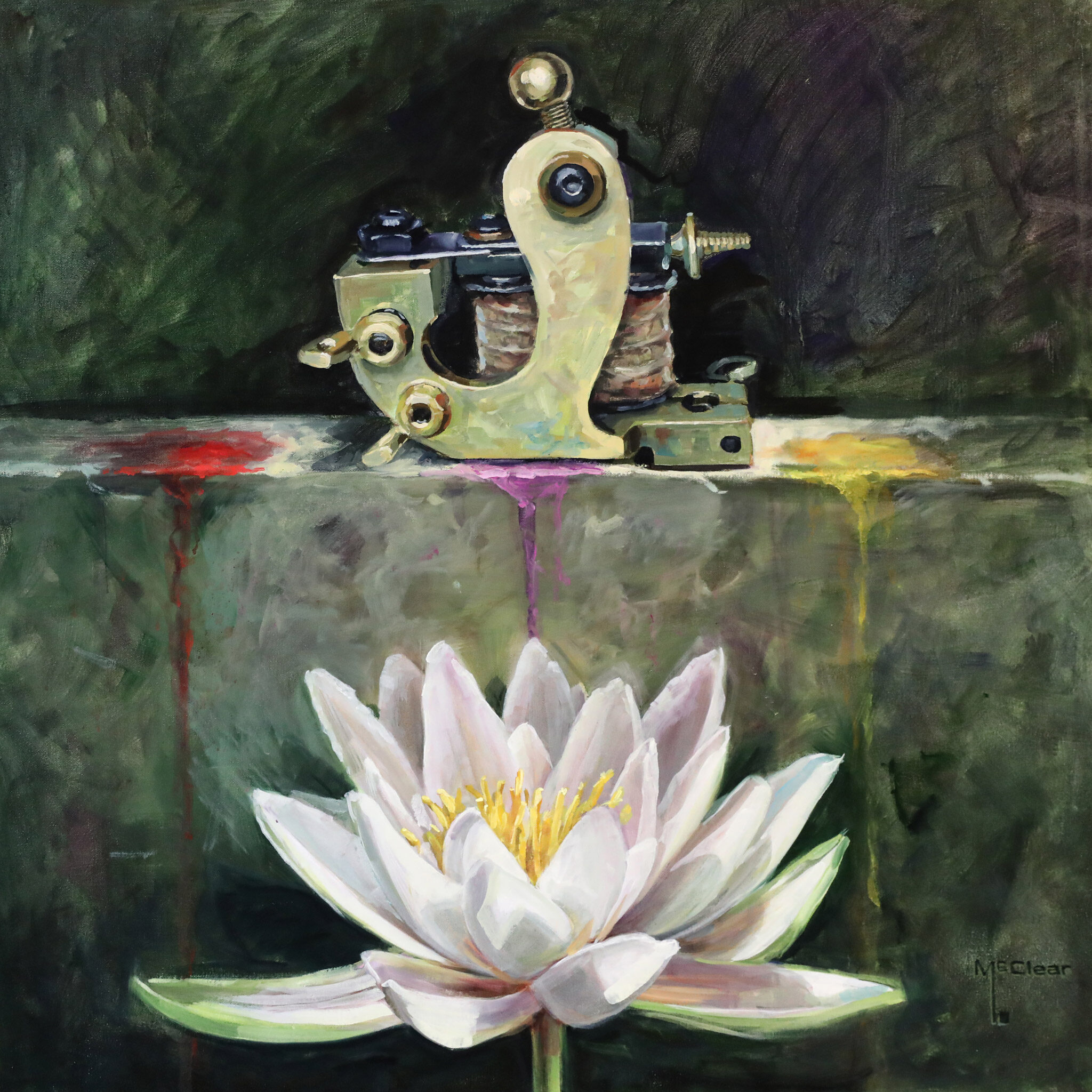Ink & Lotus Blossom by: Brian McClear