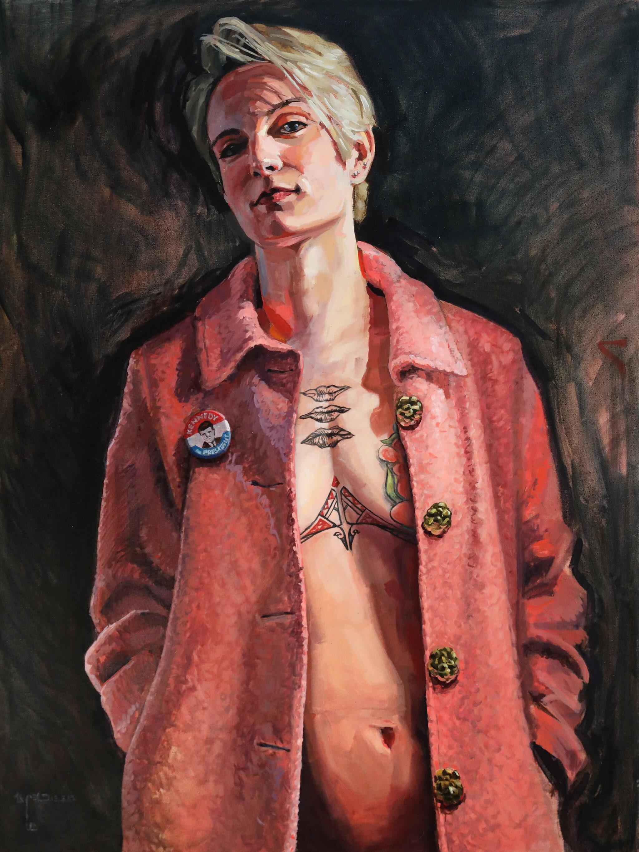 """Sarah"" by Brian McClear | Ink & Oil"