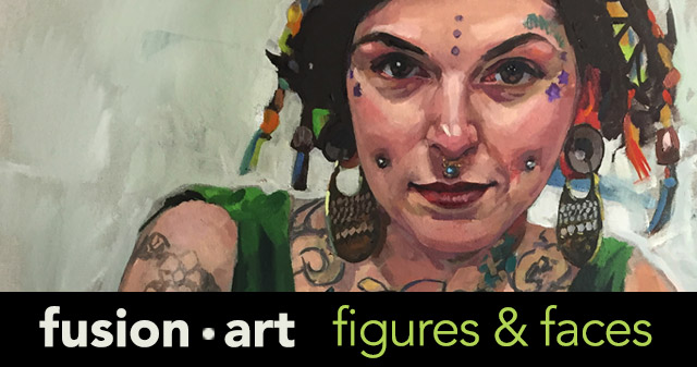 Brian McClear | Fusion Art's 4th Annual Figures and Faces Exhibition