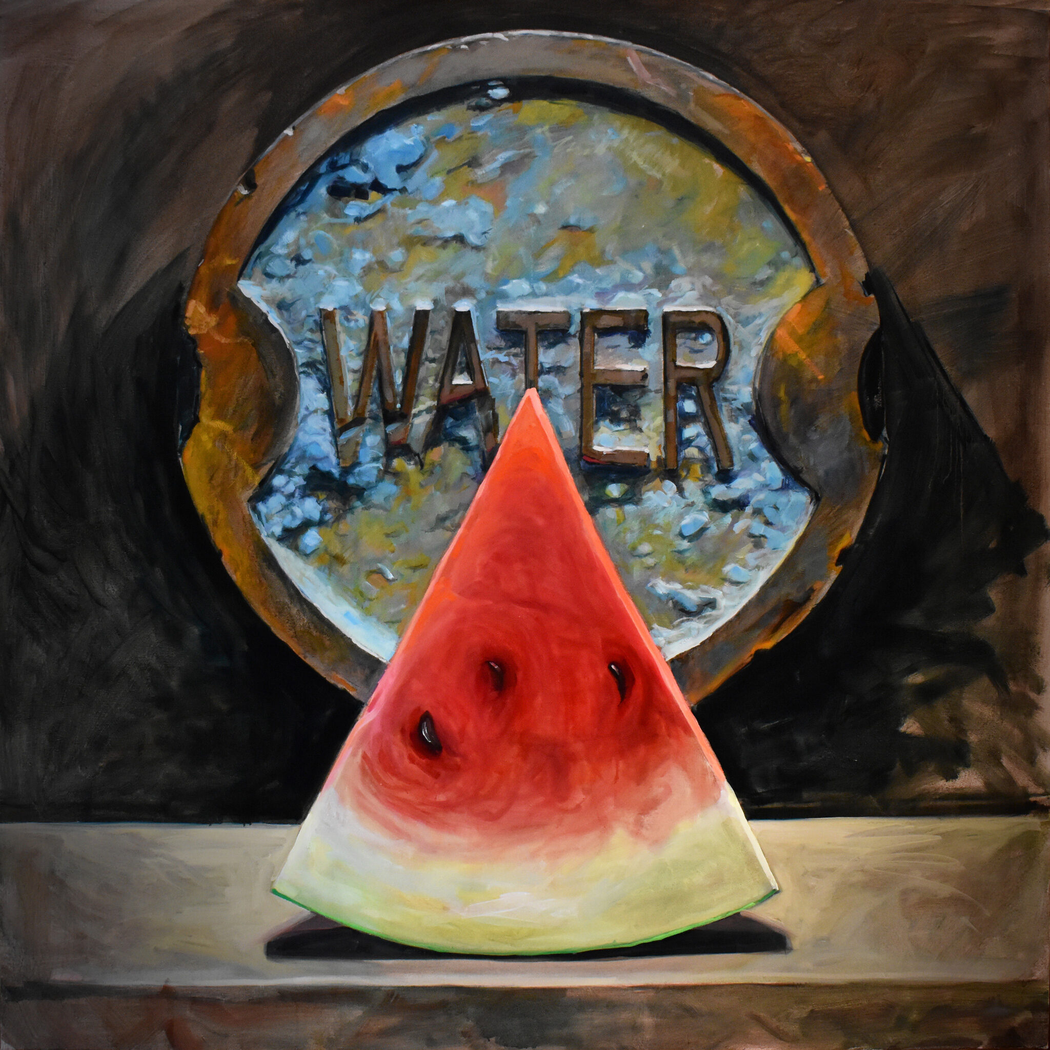Water & Melon by Brian McClear