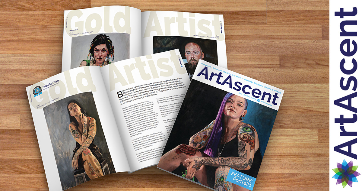 Brian McClear | Art Ascent February 2021 — Portraits Issue
